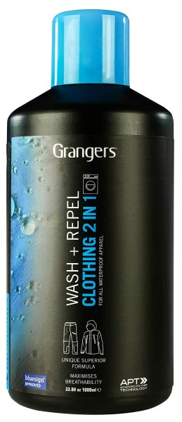 GRANGERS 2in1 Wash & Repel - Waschen & Imprägnieren - 1000 ml