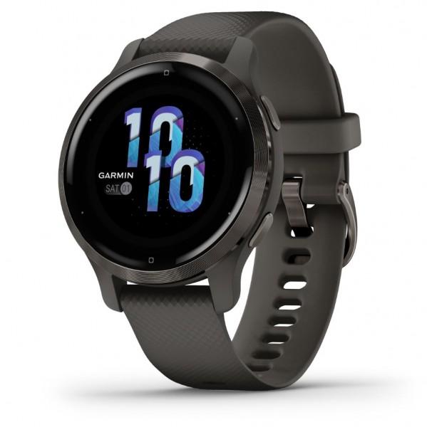 GARMIN VENU 2S - GPS Fitness Smartwatch - Schiefergrau