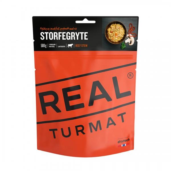 REAL TURMAT Beef Stew - Rindfleisch mit Reis und Gemüse