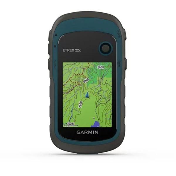 GARMIN eTrex 22x - Schwarz/Blau - Robustes GPS-Handgerät
