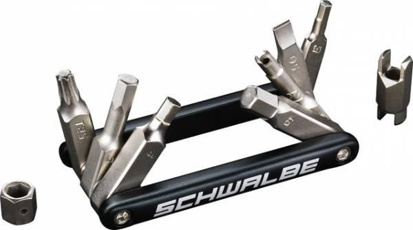 SCHWALBE Multitool 9 - leichtes Miniwerkzeug