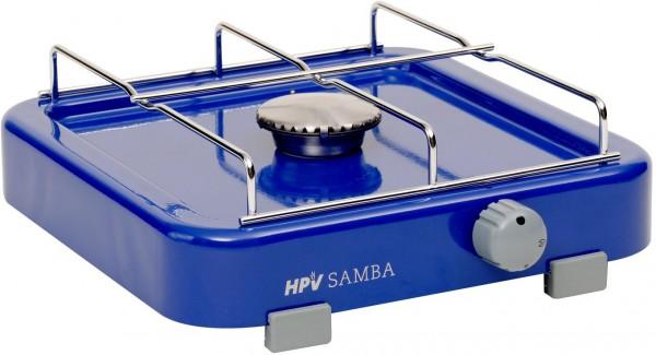 HPV Samba Gaskocher- 1-Flamm-Gaskocher mit Zündsicherung- 50mbar- 1 x 1,6kW