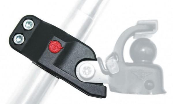 HEBIE - Sattelstützadapter - Anhängerkupplung F1 - schwarz