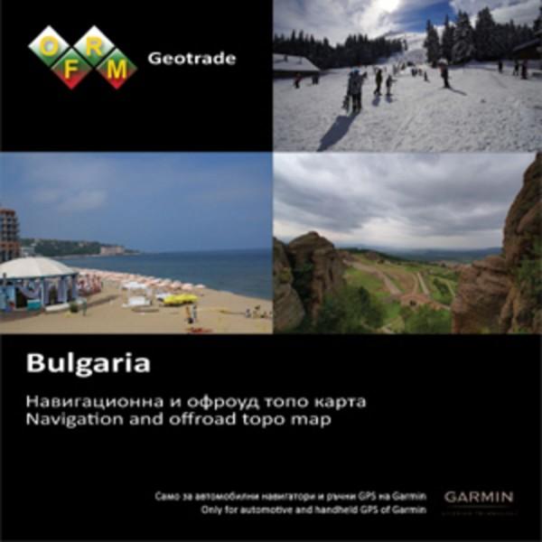 GARMIN Topo Bulgarien v4 - microSD/SD - Karte
