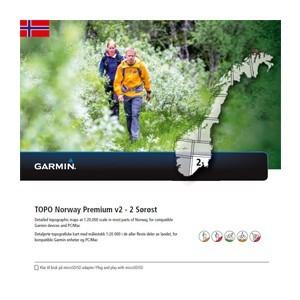 Garmin Topo Norwegen Premium 2 - Sorost (microSD/SD) - Karte