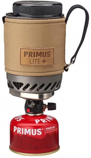 PRIMUS Lite+ mit Piezo - Sand - Kocherset - Gaskocher - 1,5kW