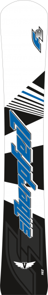 F2 Silberpfeil Vantage - Raceboard - Alpinboard - Snowboard - 2020