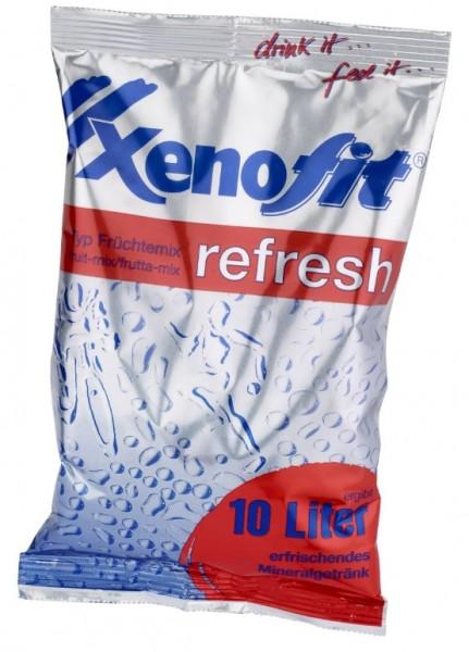 XENOFIT Refresh Getränkepulver Beutel - Früchtemix - 600g- 10 Liter