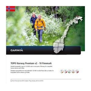 Garmin Topo Norwegen Premium 10 - Finnmark (microSD/SD) - Karte