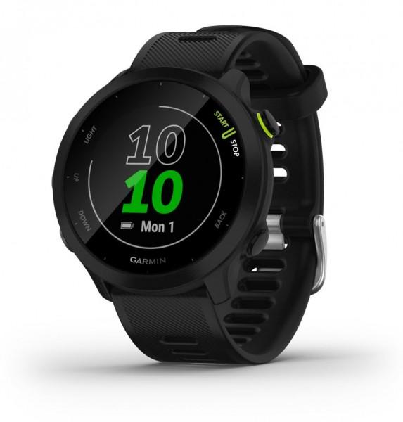 GARMIN Forerunner 55 Schwarz GPS Lauf- Training Smartwatch
