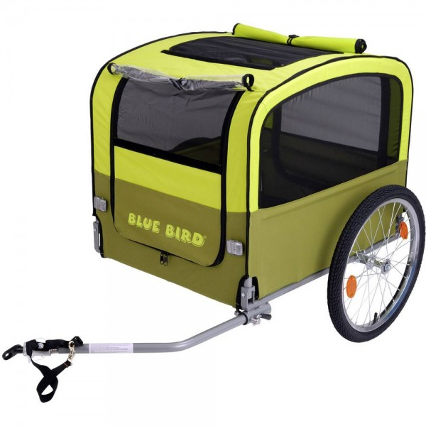 BLUE BIRD Point - Hundetransportanhänger - gelb