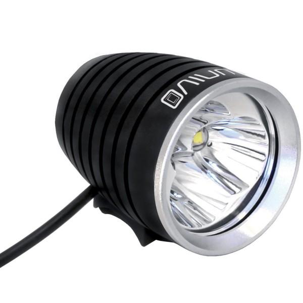 LUNIVO Sirius 3000 II Helmlampe - mit 3000 Lumen