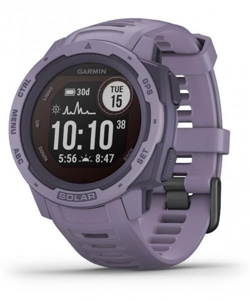 GARMIN Instinct Solar - Rosa - Outdoor - Smartwatch