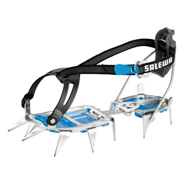 SALEWA Alpinist Steel Combi - Steigeisen - Steel-Blue