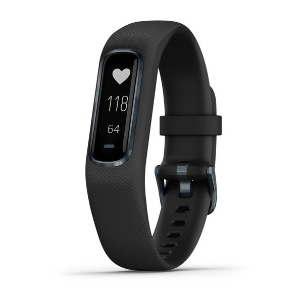 GARMIN Vivosmart 4 - Smartwatch - S/M - Schwarz/Schwarz