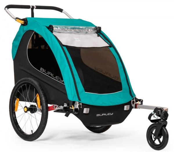 BURLEY Encore X Fahrrad-Kinder-Anhänger