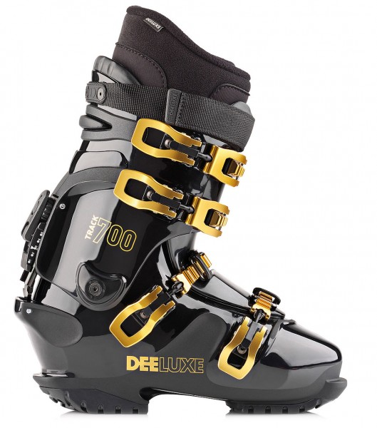 DEELUXE TRACK 700 T DEL - Thermo - Black - Hardboots