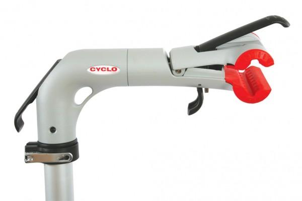 CYCLO Haltekopf für Montageständer - Grau