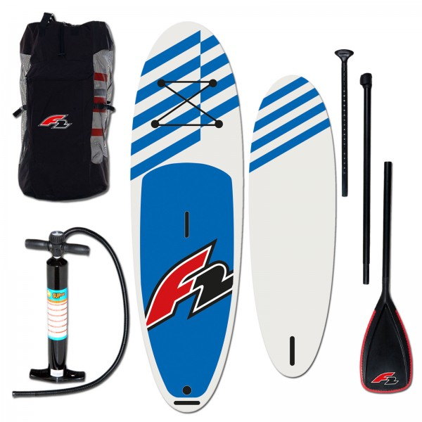 F2 Allround SUP- Stand Up Paddle Board SUP 10,0'' Blue Komplett Set