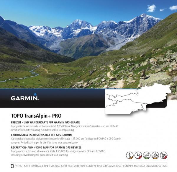 GARMIN TransAlpin V4 + Pro (microSD) - Karte