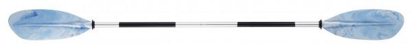 BASIC NATURE Doppelpaddel - Aluminium - 230 cm