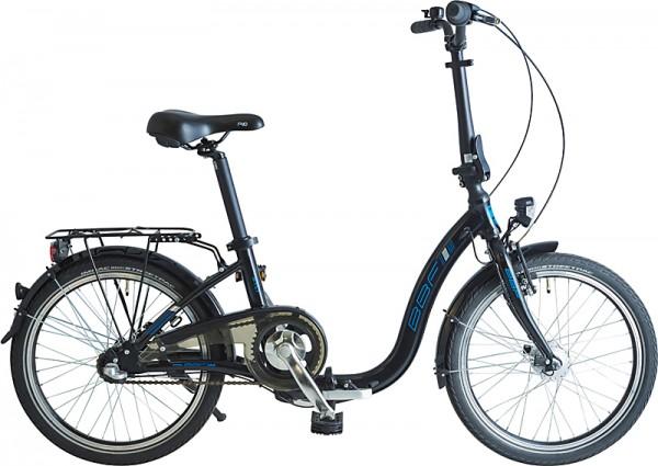 BBF Sylt Faltrad 3-Gang ND - schwarz