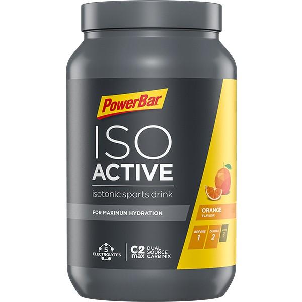 POWERBAR Isoactive Isotonisches Sportgetränk - Orange - 600g Dose