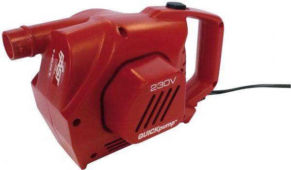 COLEMAN QuickPump - 230 Volt - rot- Elektropumpe