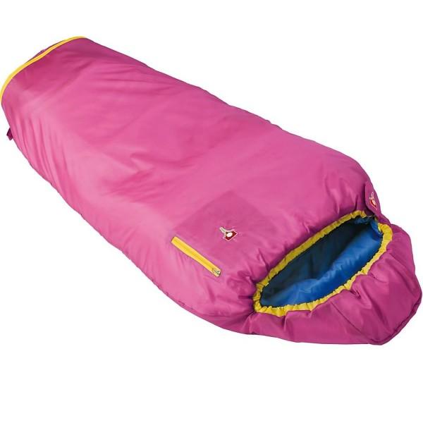 GRÜEZI-BAG Kids Grow Colorful - Kinderschlafsack in Mumienform - rose