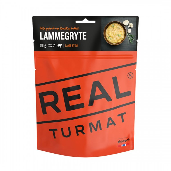 REAL TURMAT Lamb Stew - Lammeintopf - Expeditionsnahrung - 10 Pack