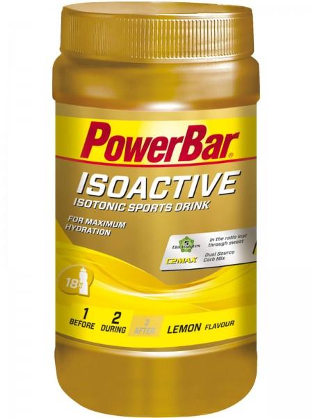 POWERBAR Isoactive Isotonisches Sportgetränk - Lemon - 600g Dose