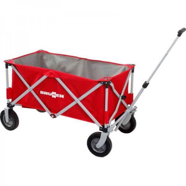 BRUNNER Bollerwagen- Faltbarer Handwagen Cargo- rot