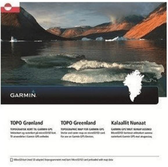 GARMIN Topo Grönland - microSD/SD - Karte