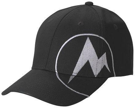 Marmot Mdot Twill Cap Black