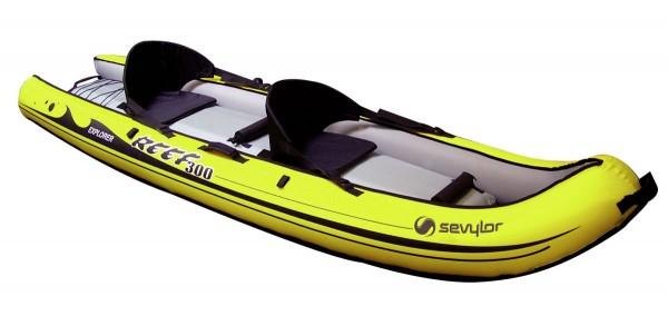 SEVYLOR Reef 300 - Kajak - Aufblasbares - Sit On Top Fun - 2 Personen