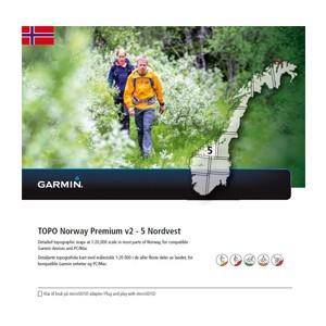 Garmin Topo Norwegen Premium 5 - Nordvest (microSD/SD) - Karte