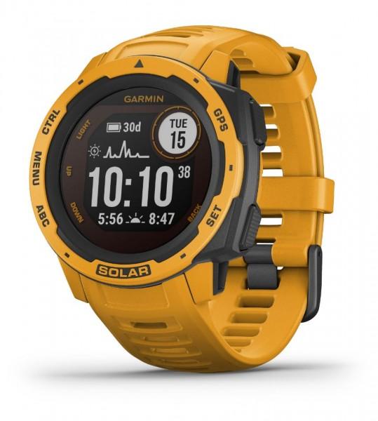 GARMIN Instinct Solar - Gelb - Outdoor - Smartwatch