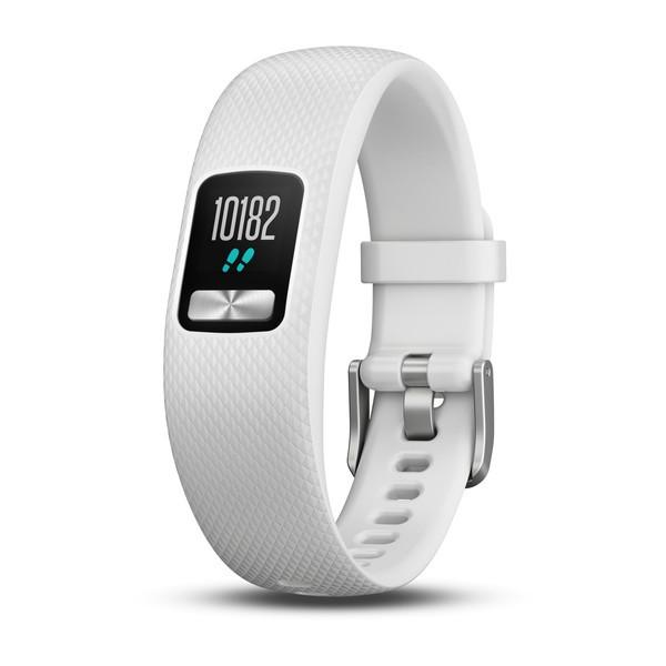 GARMIN vivofit 4 - Weiß - S/M - Fitness-Tracker