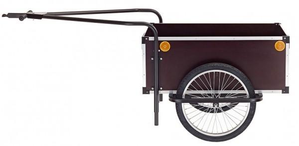ROLAND Fahrradanhänger Jumbo - mit Doppeldeichsel - braun