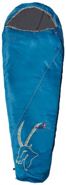 GRÜEZI-BAG Cloud Mumienschlafsackr Blau - 225x80x55cm