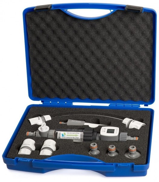 TW-DES Wasserkoffer - Wasserfilter - Wasserzähler - 8-teilig