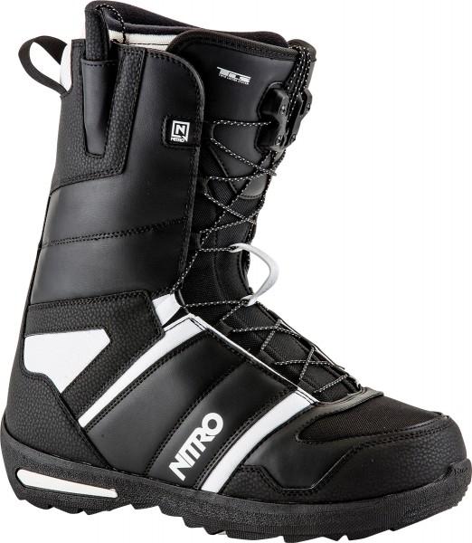 Nitro Vagabond TLS Boots - Black/Sand - Snowboardschuhe