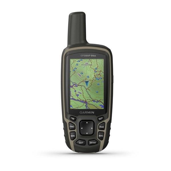 GARMIN GPSMAP 64sx - GPS-Handgerät mit Navigationssensoren