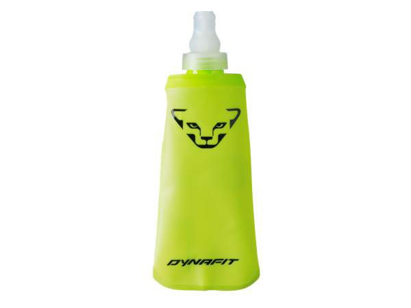 DYNAFIT Flask - Fluo Yellow - 250ml - flexible Trinkflasche