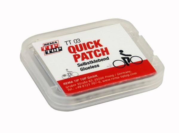 TIP TOP TT 03 Quick Patch - SELBSTKLEBEND - Flickenset- Reifenreparatur