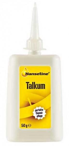 HANSELINE Talkum Pulver- 50 ml- Plastikflasche mit Header