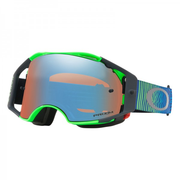 OAKLEY Airbrake MX Shockwave Blue Green / Prizm MX Sapphire