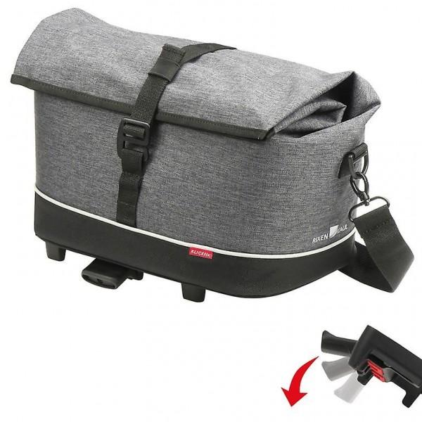 KLICKFIX Rackpack Citytasche - tweed-grau