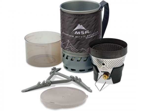 MSR WindBurner 1 Liter Personal Kochersystem - Black - Set