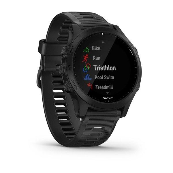GARMIN Forerunner 945 Schwarz-Schiefer GPS Triathlon Smartwatch